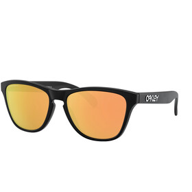 Oakley Frogskins XS Gafas de Sol Jóvenes, matte black/prizm rose gold polarized